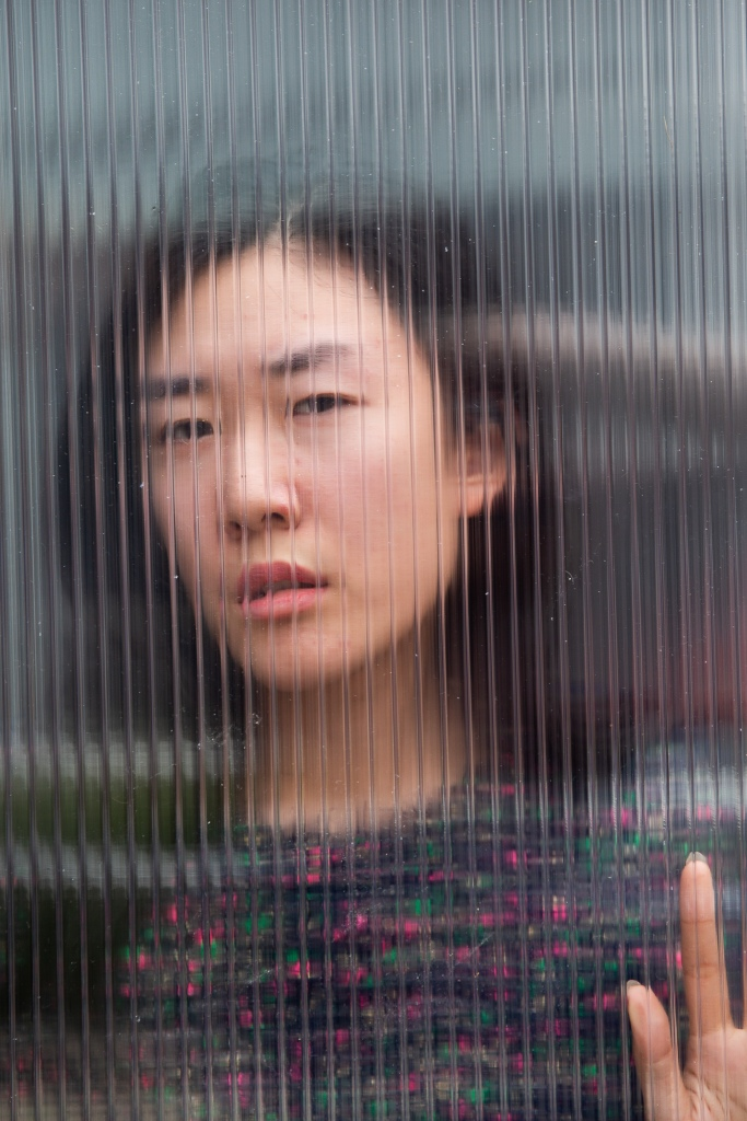 Mila, played by Linda Chen, in a press photo for The Street Theatre's production, 2019 Photo by Novel Photographic